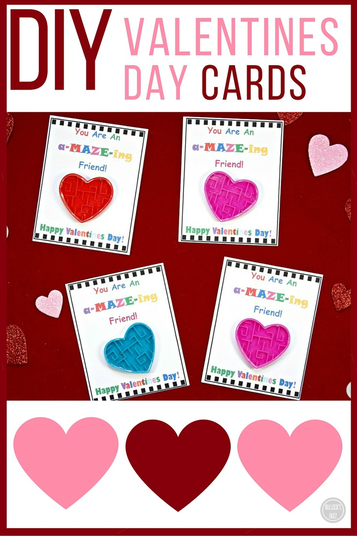 DIY Valentines Day Cards For Kids With Free Printable