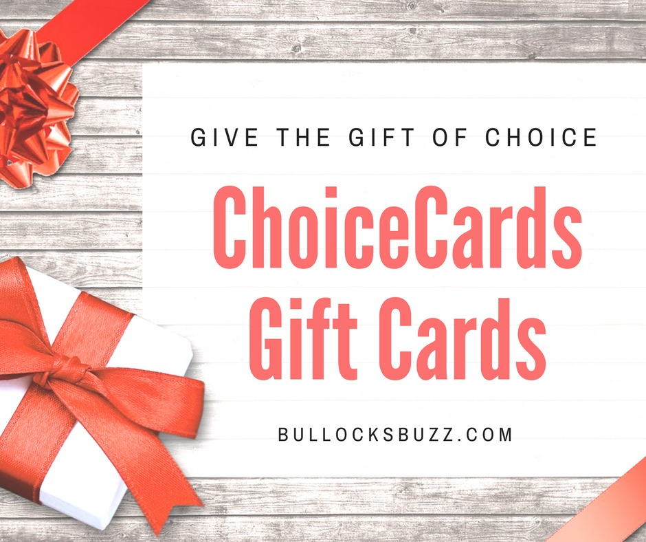 Choicecards Gift Cards  Give The Gift Of Choice