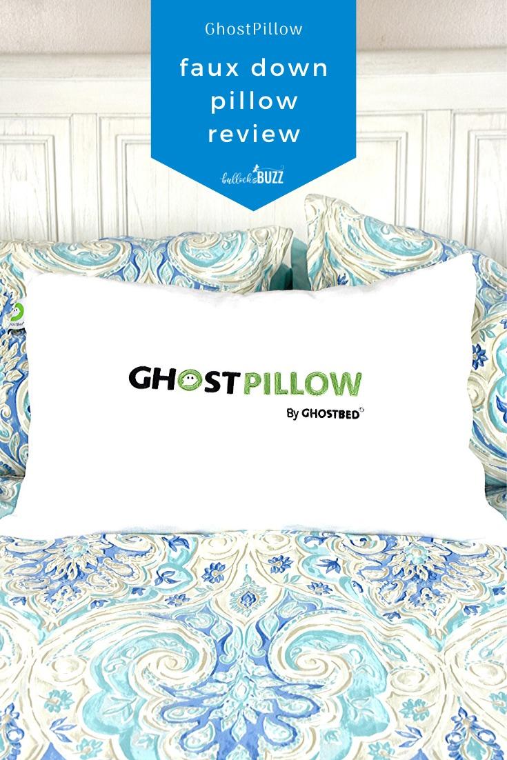 ghostpillow faux down pillow review