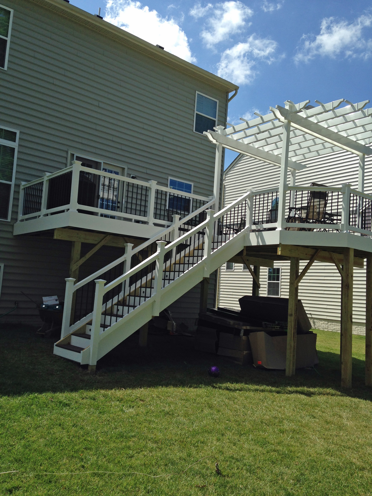 Extended Haymarket Deck With Open Roof Bull Run Valley