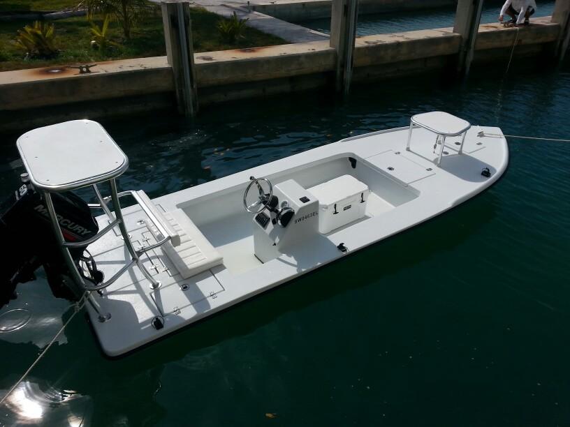 Bullseye Bonefishing Flats Boat