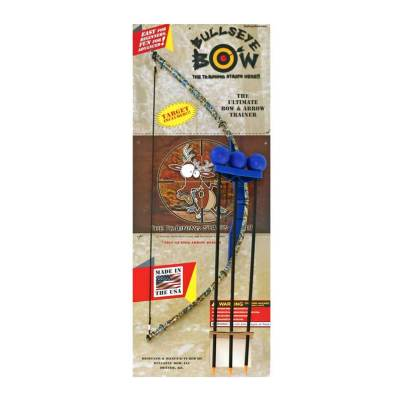 Blue Camo Toy Bow and Arrow Trainer