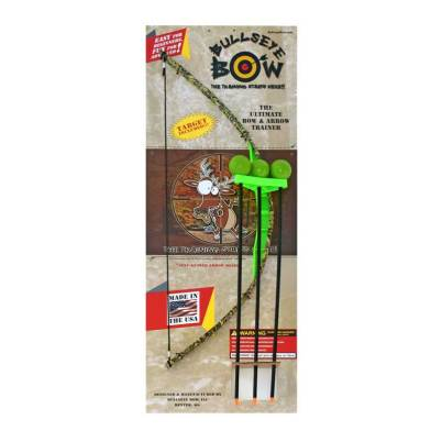 Green Camo Toy Bow and Arrow Trainer