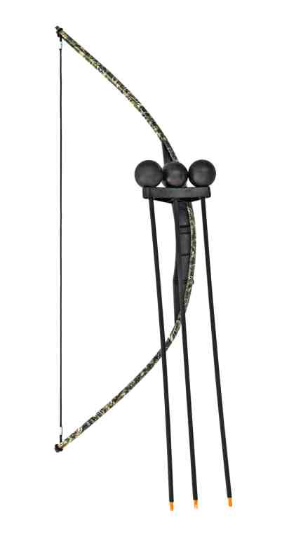 Black Camo Toy Bow and Arrow Trainer