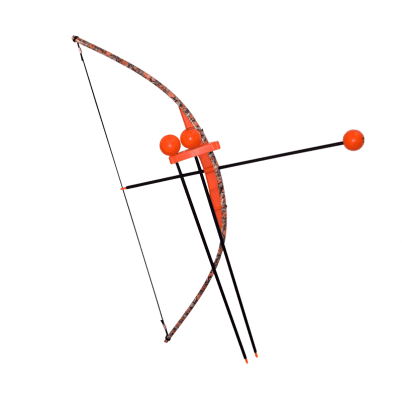 Orange Camo Toy Bow and Arrow Trainer