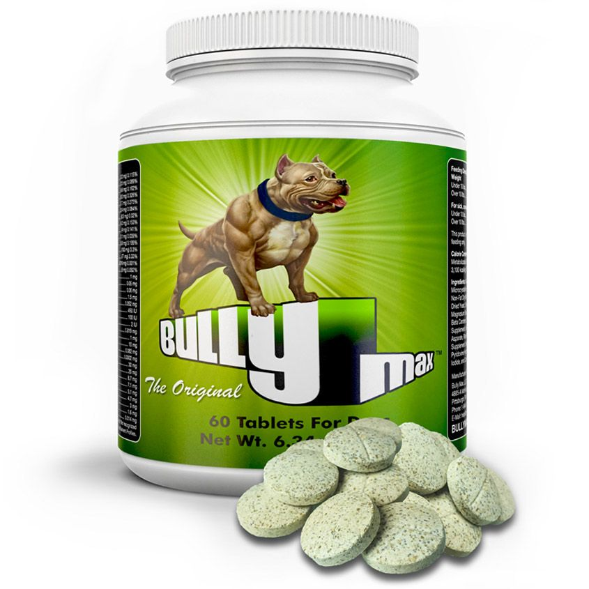 Bully Max™ — The #1 Rated Muscle Builder For Dogs