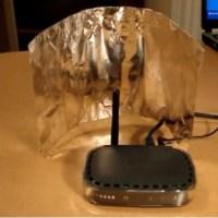 Нужно ви е само алуминиево фолио, за да увеличите скоростта на интернета в дома ви