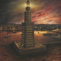 Александрийският фар - едно от седемте чудеса на античния свят