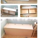 Corner Toy Storage Bench Storage Benches