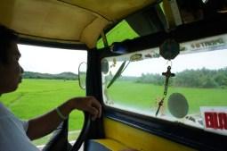 Jeepney plying the Bulusan-Gubat route