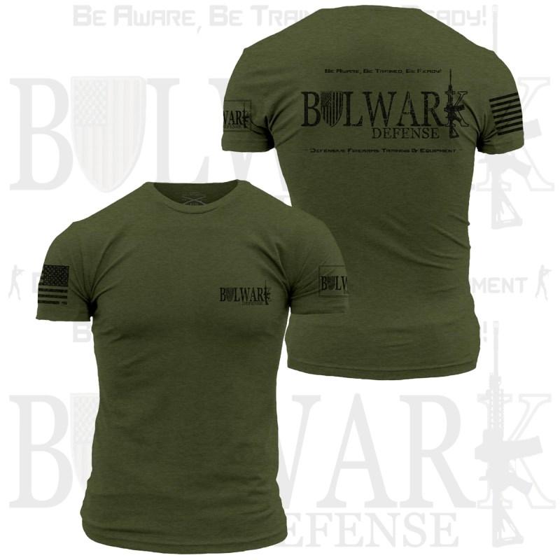 BULWARK DEFENSE - TShirt - Military Green