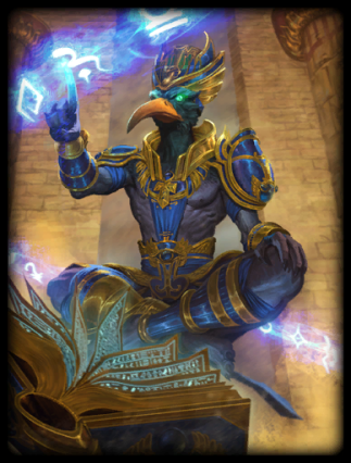 Thoth, immortal ruler over the various Atlantean colonies