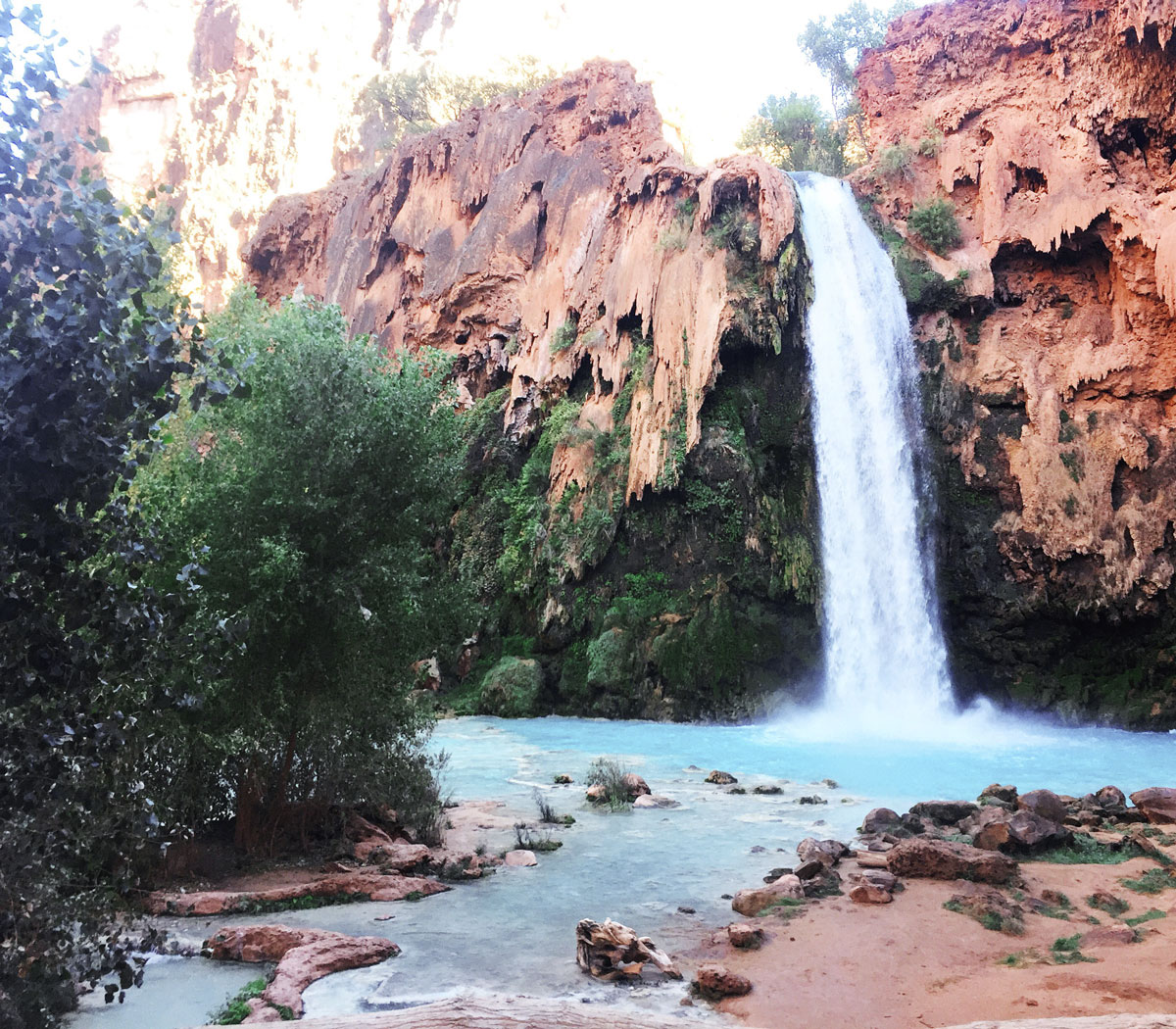 Havasu-Falls-Havasupai-Arizona-Grand-Canyon-Hiking-Guide-By-Bumble-and-Bustle-3
