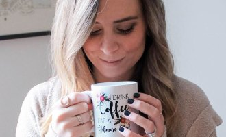Featured-Gilmore-Girls-Coffee-Mug-With-AshBerleen-Fashion-Help-By-Bumble-and-Bustle