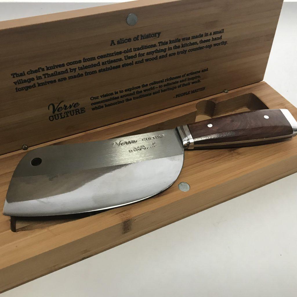 Thai Chef Knife - Verve Culture, Thai Knives - bumble B design