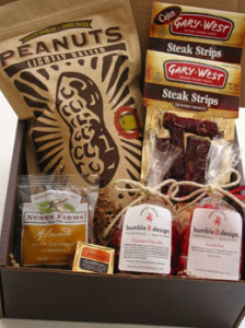 Manly Muncher Gift Box, bumble B design, Seattle WA