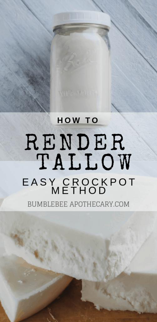 How to render tallow in a crockpot #diy #crockpot #tallow #wapf