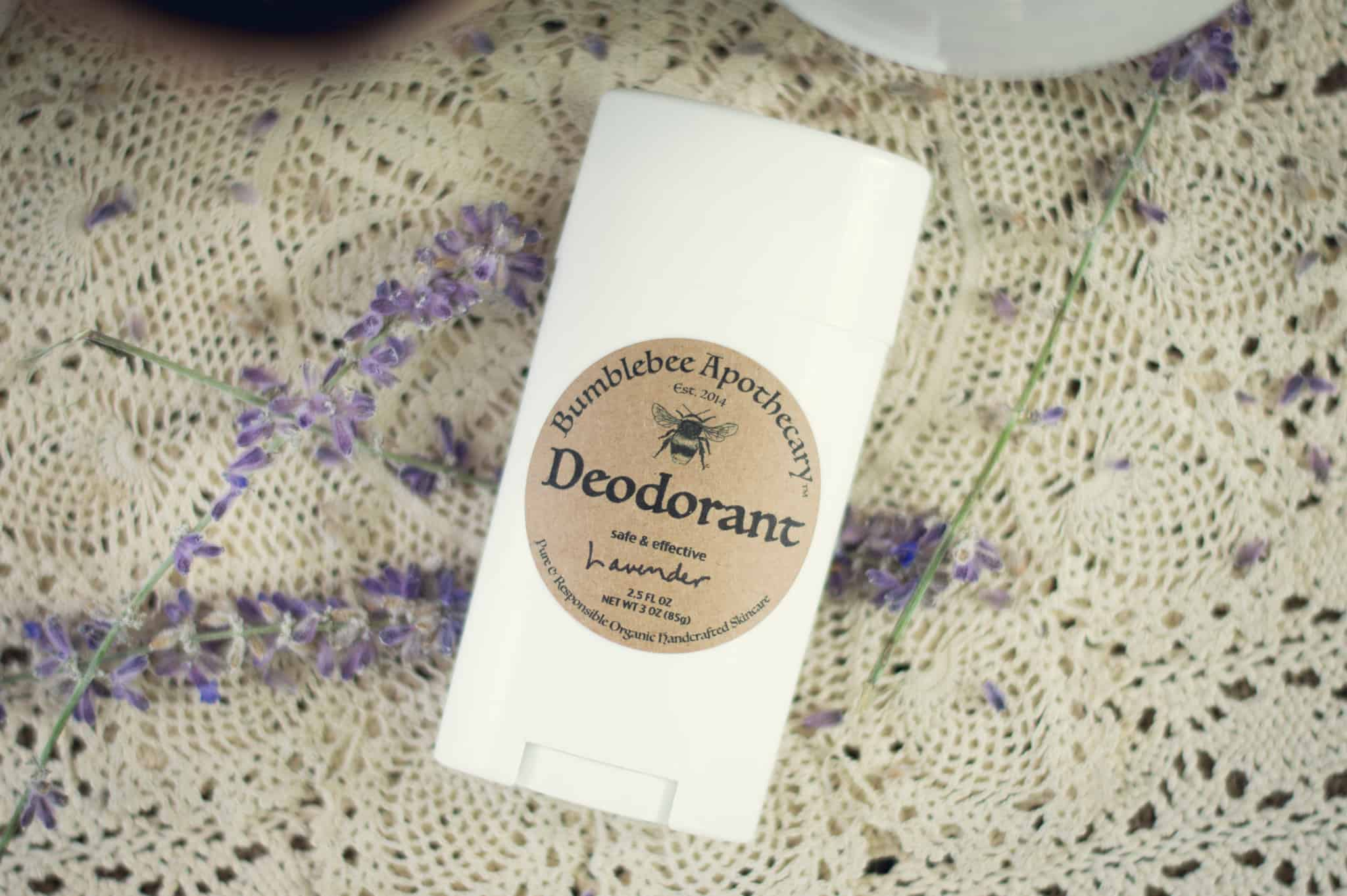 Homemade Deodorant Stick Recipe