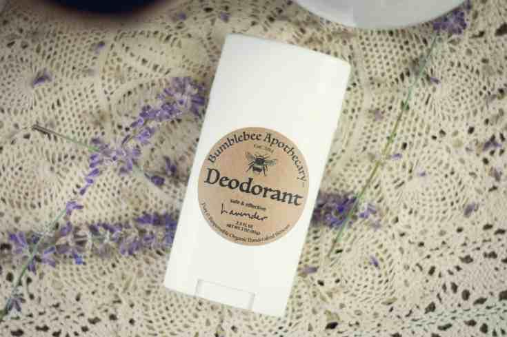 Homemade Deodorant Stick Recipe