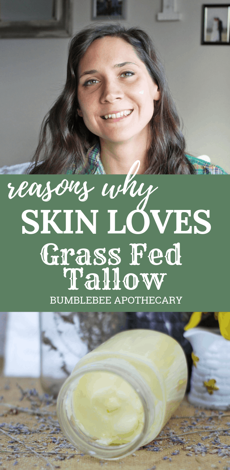 Reasons why skin loves grass fed tallow | Tallow for skin | #grassfedtallow #tallowbalm #tallowforskin #benefitsoftallow