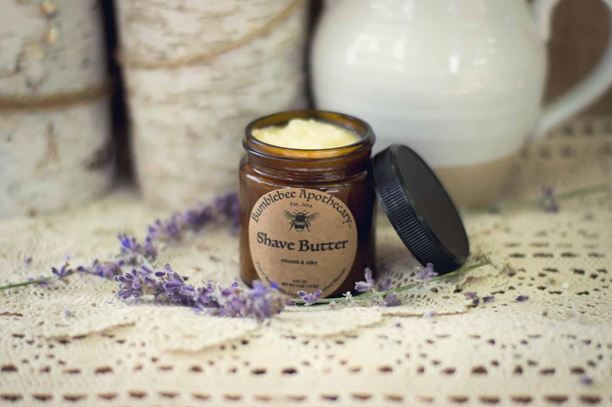 Shaving butter recipe