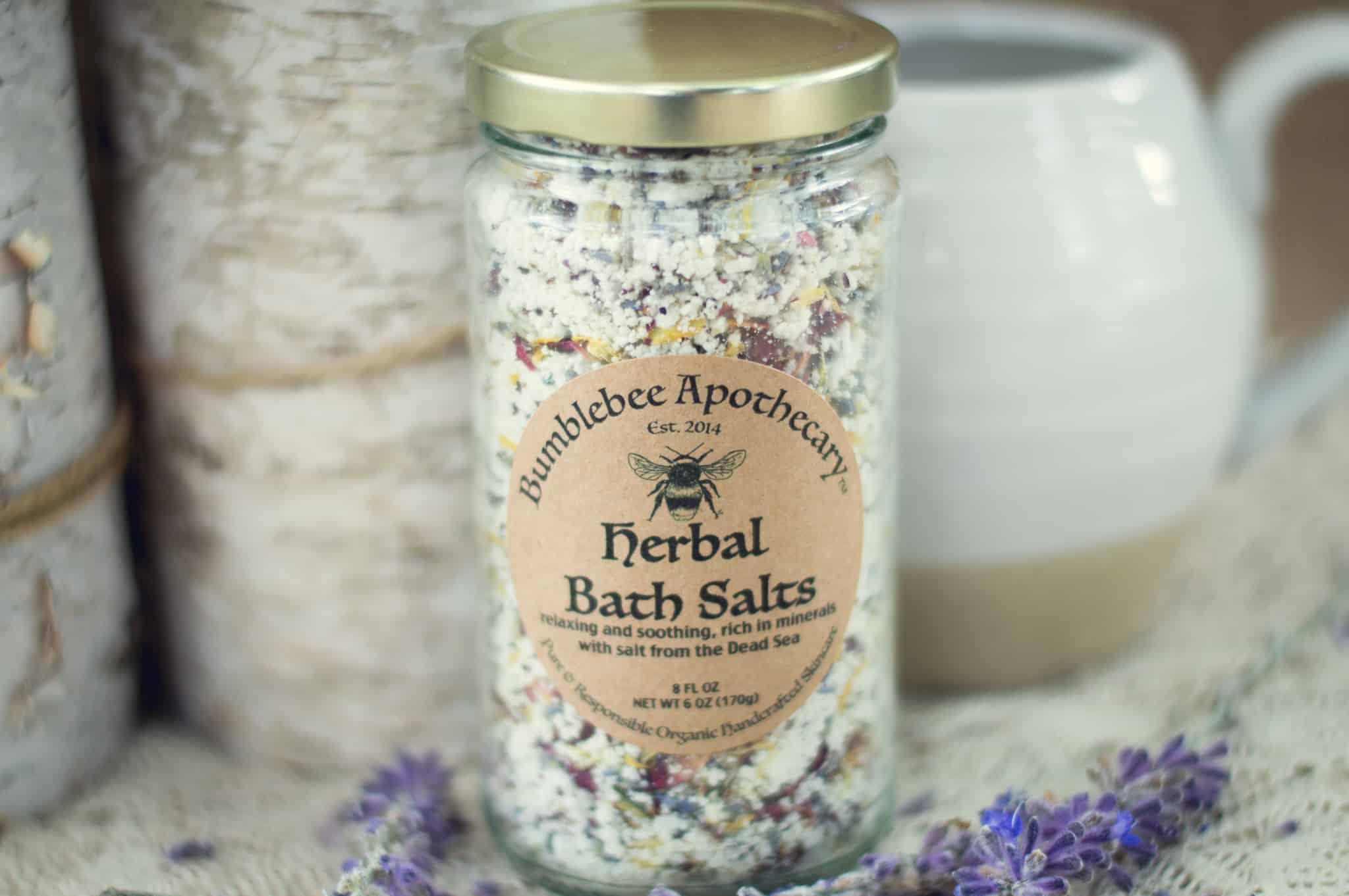 Herbal bath salts recipe Epsom salts