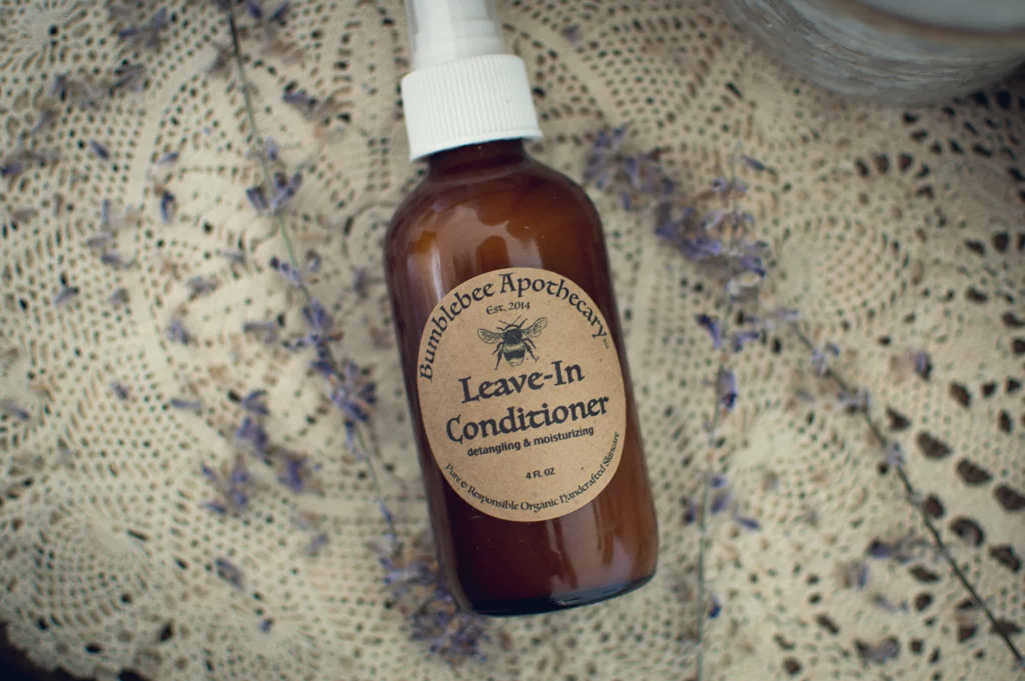 Leave in conditioner spray DIY