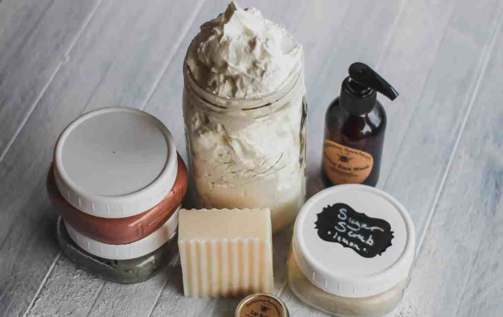 My organic skincare routine DIY products