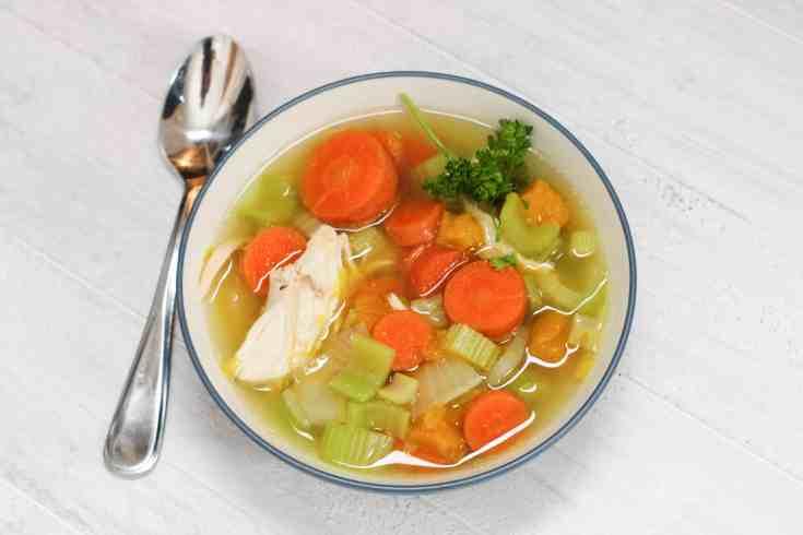 GAPS chicken soup recipe intro stage 1