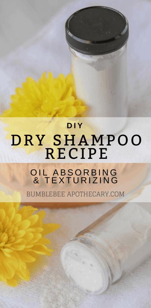 Dry shampoo recipe | easy natural DIY dry shampoo #dryshampoo #diy #naturalhaircare