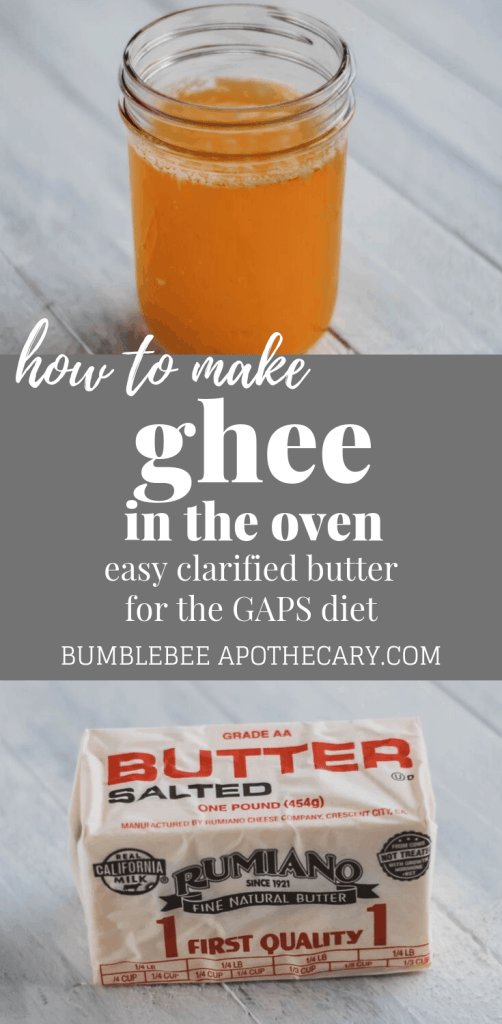 How to make ghee in the oven from butter #ghee #gaps #gapsdiet #butter