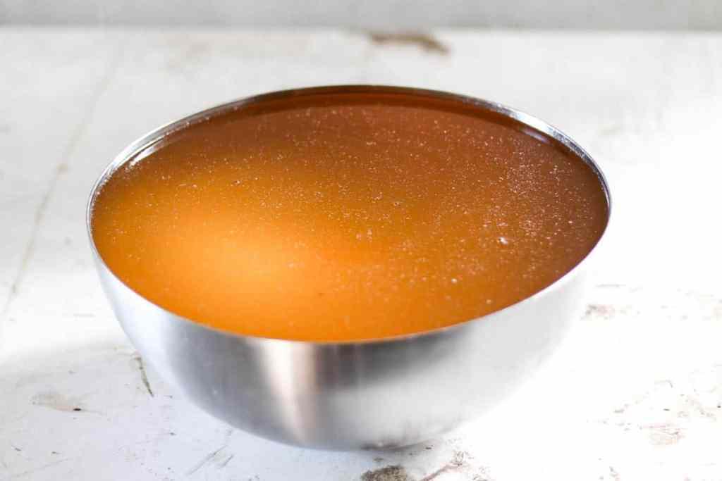 Liquid purified tallow