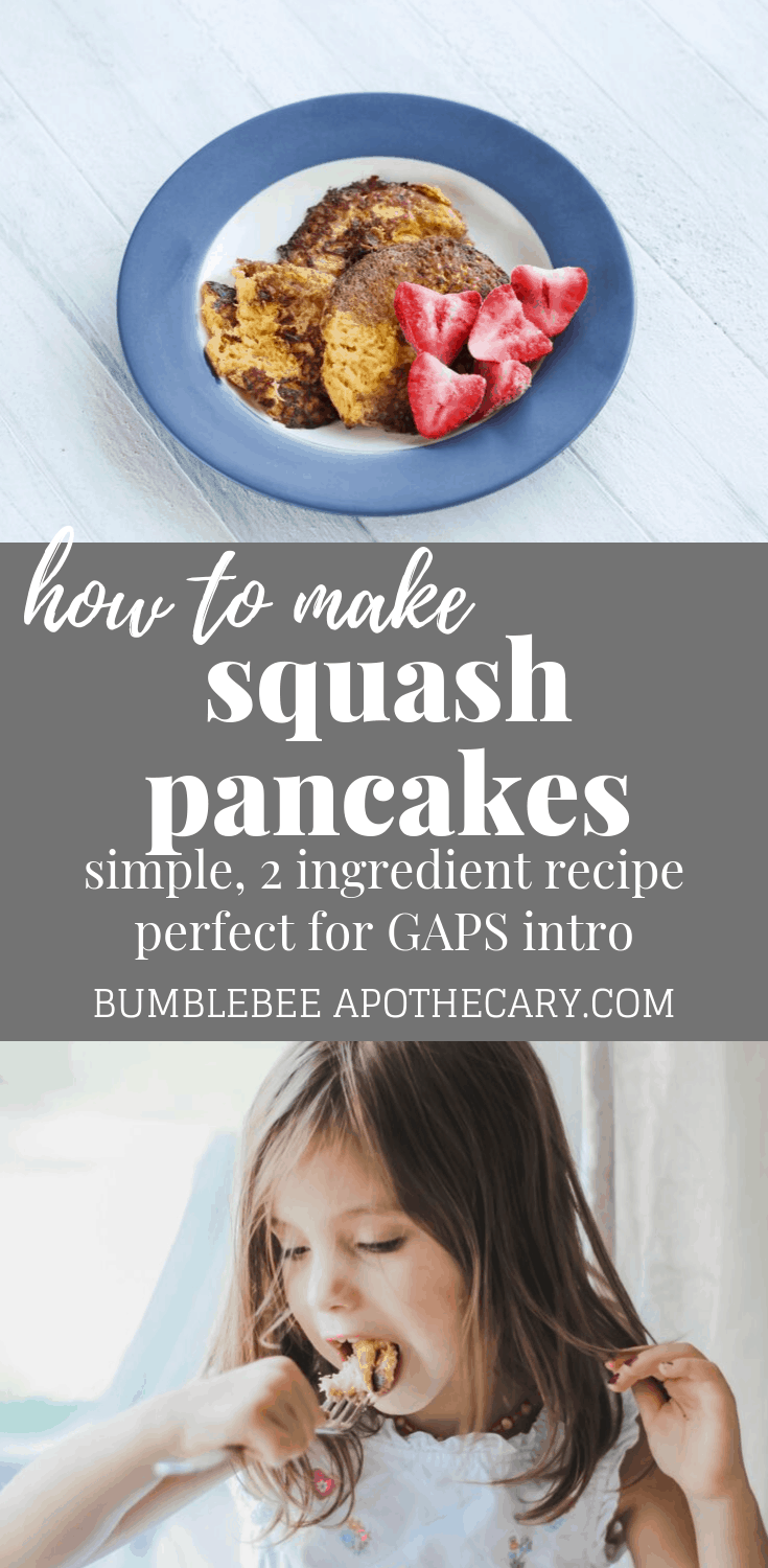 Squash pancakes make a delicious, healthy breakfast  #pancakerecipes #healthybreakfast #gapsdiet