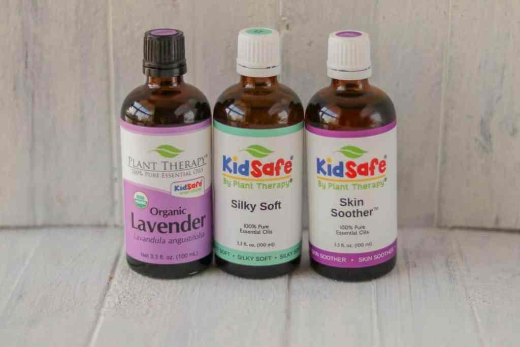 Essential oils for skin rash