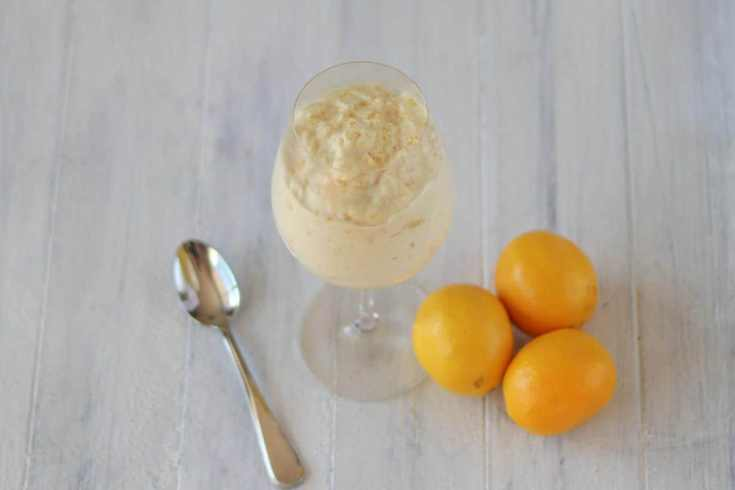 Nourishing Traditions lemon mousse