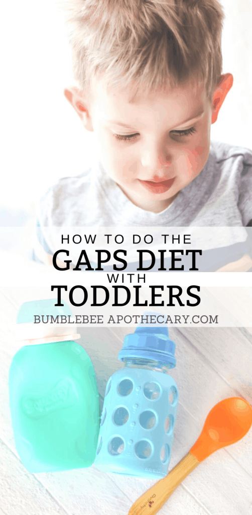 This guide to doing the GAPS Diet with a toddler is a lifesaver! I was able to overcome my son's picky eating, and get him to enjoy broth, meat, and vegetables. #gapsdiet #toddler #picky #overcome #baby