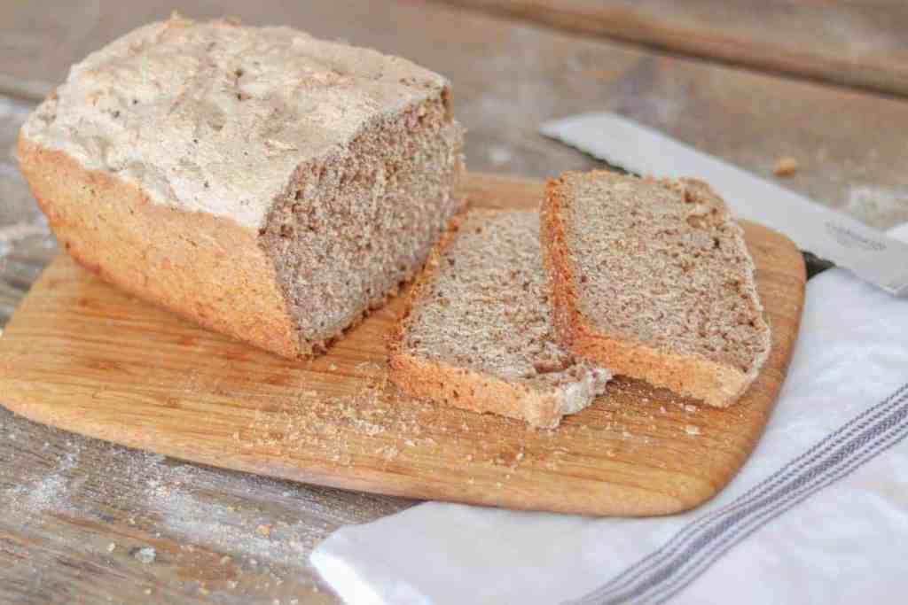 Nourishing Traditions sourdough bread
