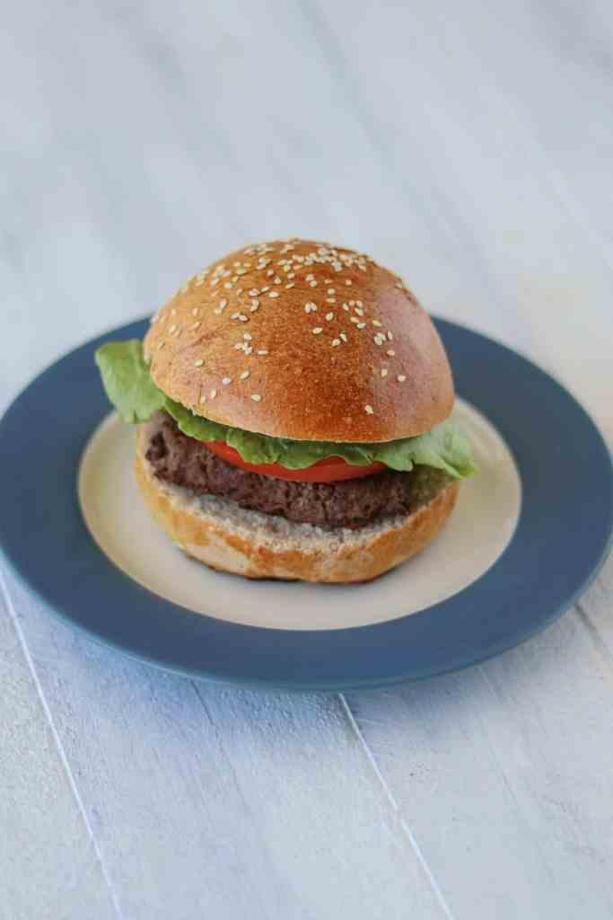 Healthy hamburger buns recipe