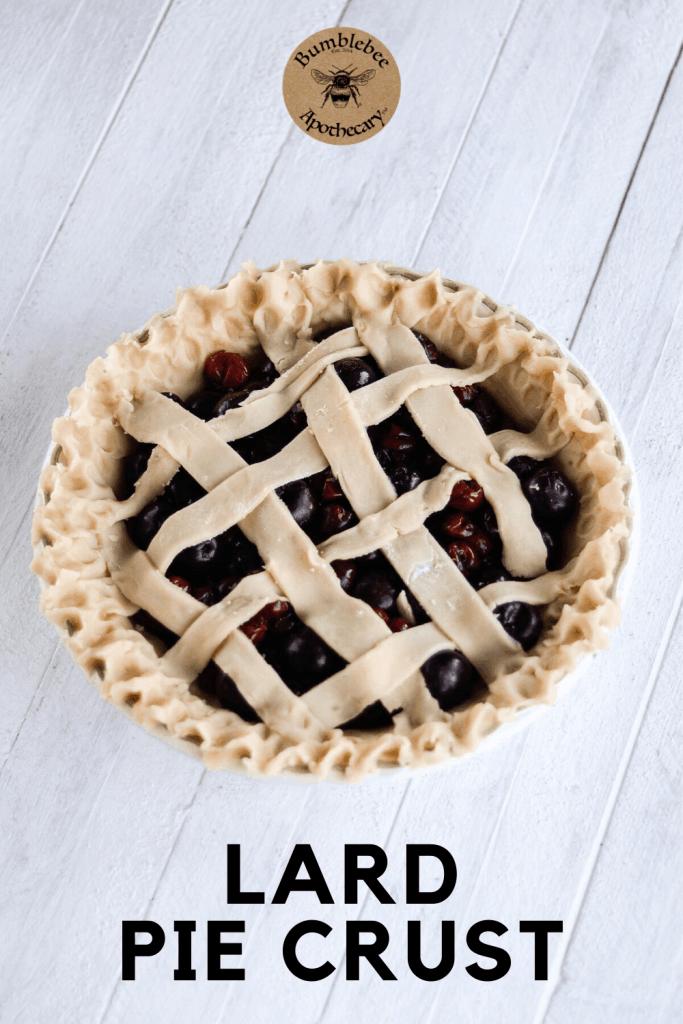 Lard Pie Crust Recipe Bumblebee Apothecary