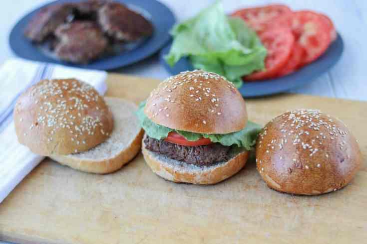 Sourdough Hamburger Buns