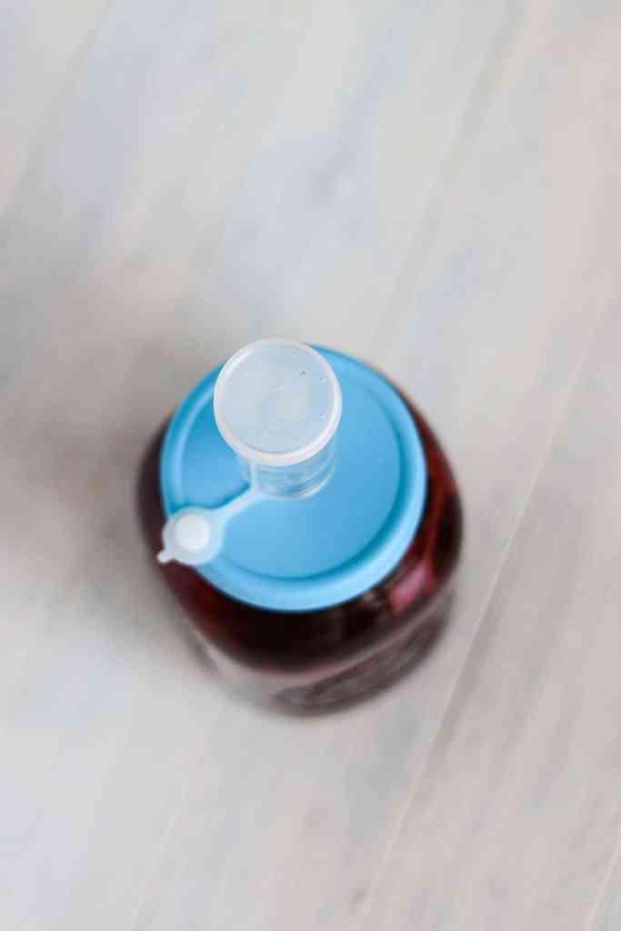 Water seal fermentation lid