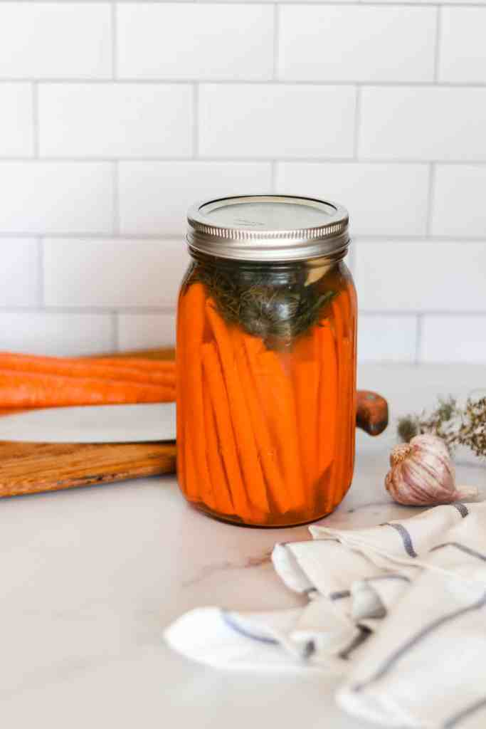 Fermented carrots how to make