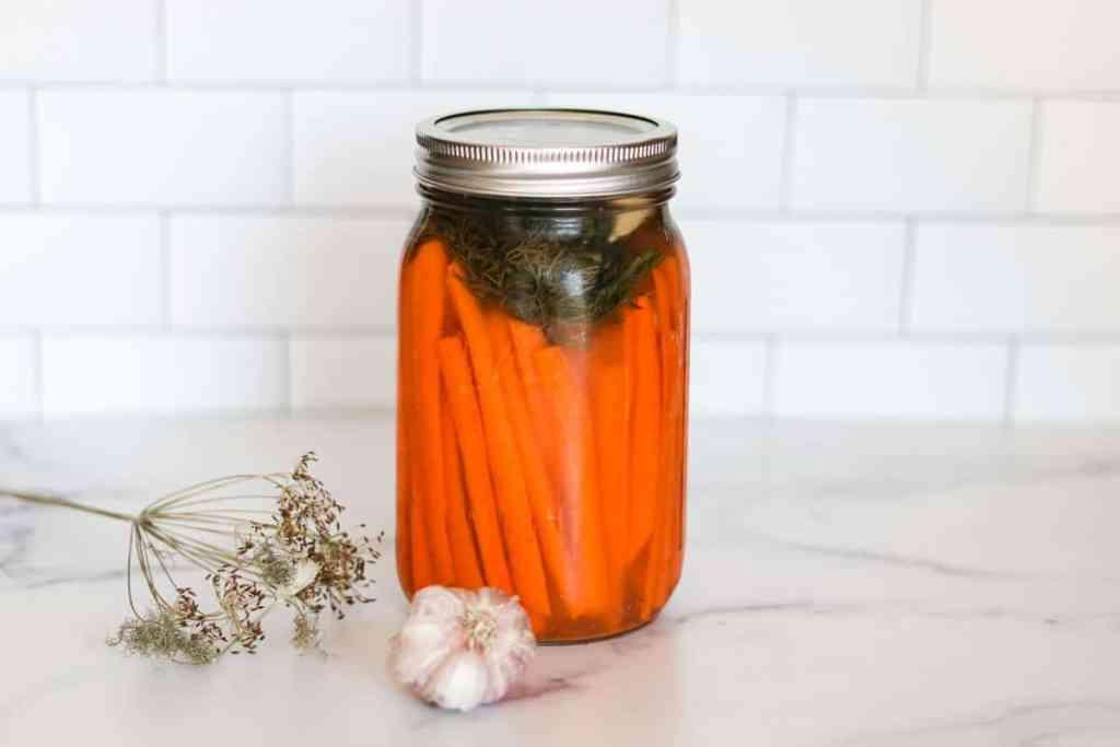 Fermented carrots recipe