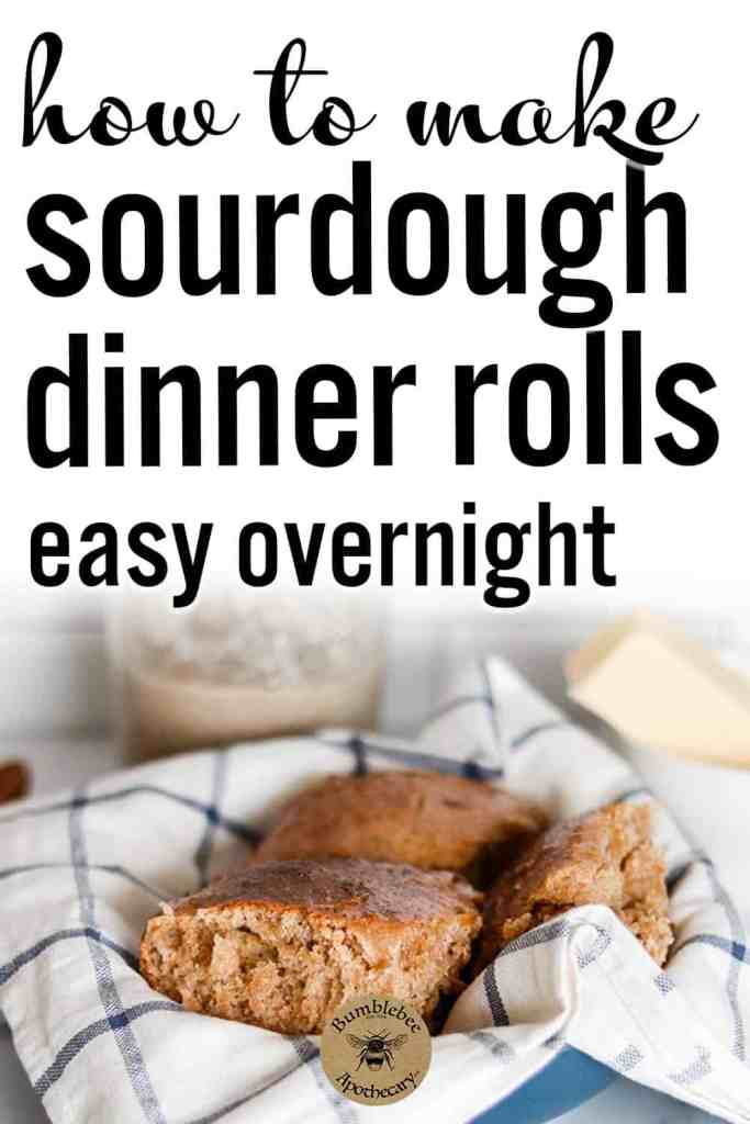 Quick and easy no yeast sourdough dinner rolls recipe with starter that makes soft, crusty whole wheat sourdough rolls. Overnight, from starter, best, fluffy, einkorn, sweet. #foodanddrink #healthyrecipes #traditional