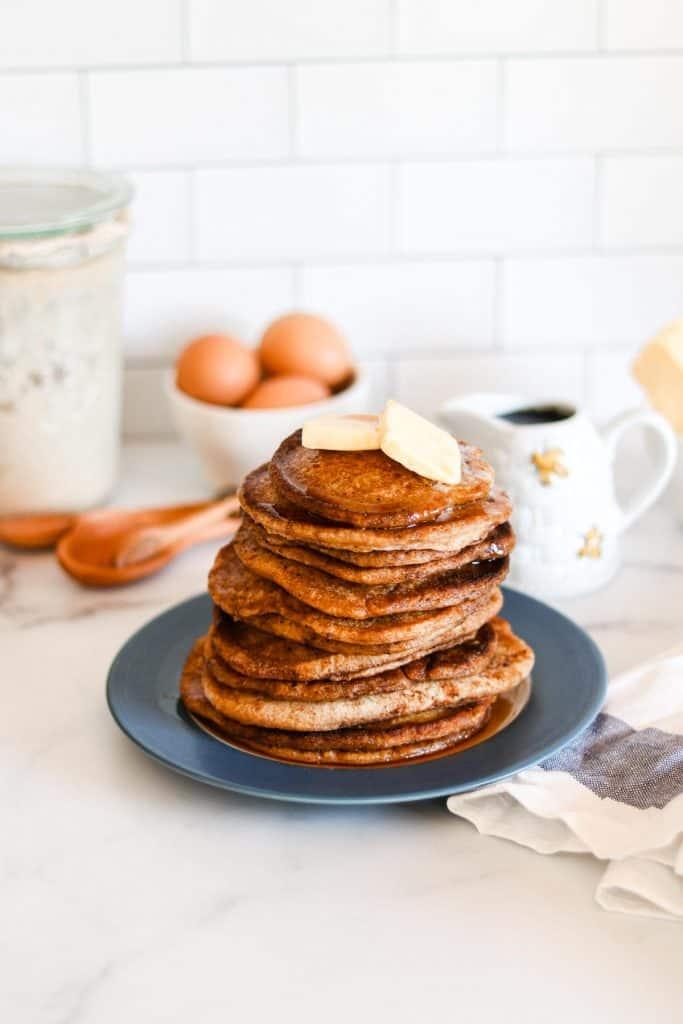 Sourdough pancakes easy