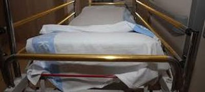 image of a hospital gurney