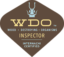 Wood Destroying Ogranism Inspector Seal