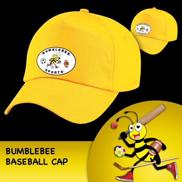 Bumblebee Baseball Cap