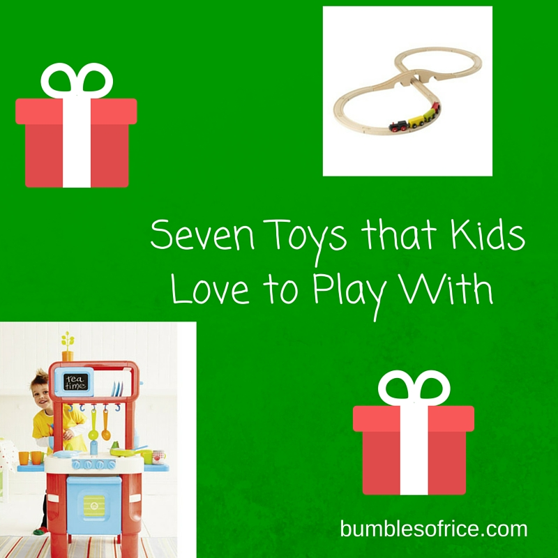 Seven Toys That Kids Love to Play With