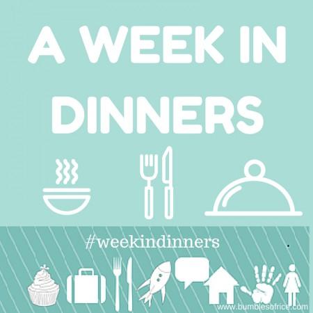 Week in Dinners - Mid-January 2019